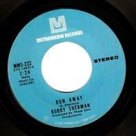 BOBBY SHERMAN Waiting At The Bus Stop Vinyl Record 7 Inch US Metromedia 1971